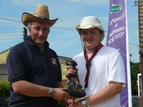 Explorer Scout of the Year