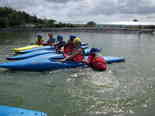 Kayaking - on the raft